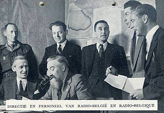 Radio Belgique radio broadcast transmitted to Nazi-occupied Belgium