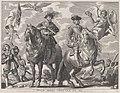 Plate 20- Charles V and Ferdinand on Horseback; from Guillielmus Becanus's 'Serenissimi Principis Ferdinandi, Hispaniarum Infantis...' MET DP874805.jpg