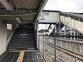 Platform of Araki Station (Kagoshima Main Line) 4.jpg