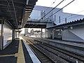 Platform of Itoshima-Kokomae Station 2.jpg
