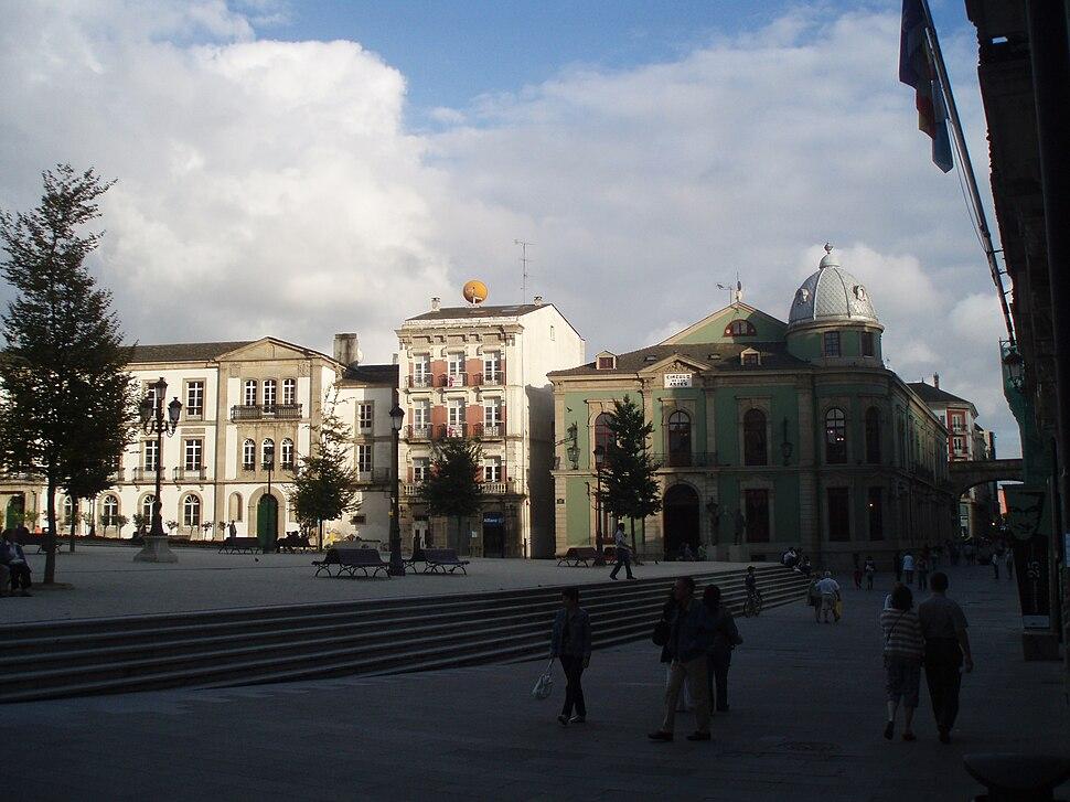 Plaza de España. Lugo