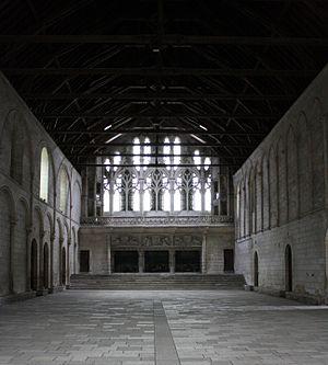 Palace of Poitiers - Poitiers Palais de Justice: Salle des pas perdus