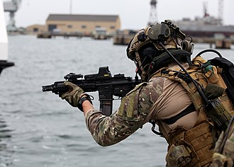 Polish Special Forces - Image: Polish SOF, Lisbon, NATO Trident Juncture 15 (22182255143)