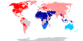 Polygamous marriages by country.png