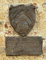 Pomarance, torre dell'orologio e palazzo pretorio, stemma 12 da filicaja.JPG