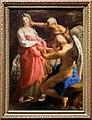 Pompeo batoni, il tempo ordina alla vecchiaia di distruggere la bellezza, 1746, 01.jpg