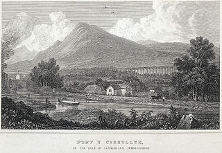 Pont y Cyssyllte: in the vale of Llangollen, Denbighshire