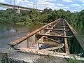 Pontes ferroviárias sobre o Rio Tietê em Salto - Antiga (Ytuana) e Atual (Variante Boa Vista-Guaianã km 206) - panoramio.jpg