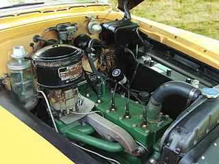 Pontiac straight-8 engine Engine # C46-25440