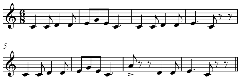 Fasciculus:Pop Goes the Weasel melody.PNG