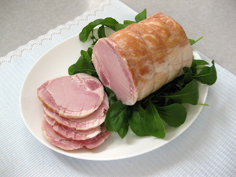 Pork loin ham 2
