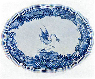 Armorial ware - Armorial plate for the Grill (family) made in China in the 18th century.