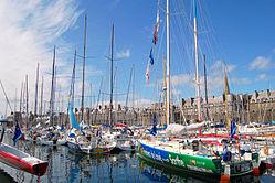 Saint-Malo port, Brittany