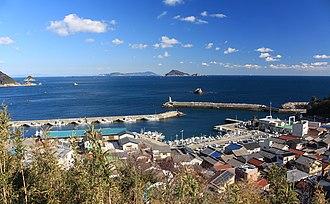Tōshijima - Image: Port of Tōshi