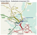 Portland, Maine - Electric railways route map 1916.png
