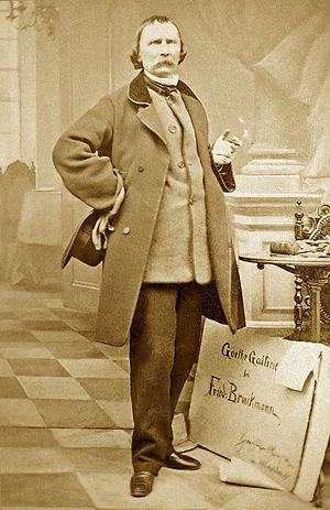 Wilhelm von Kaulbach - Wilhelm von Kaulbach—1864 photograph