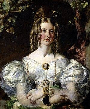 Preparing for a Fancy Dress Ball - Image: Portrait of Miss Elizabeth Potts by William Etty YORAG 1311