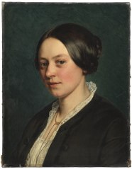 Portrait of Ms Gad, born Tvermoes