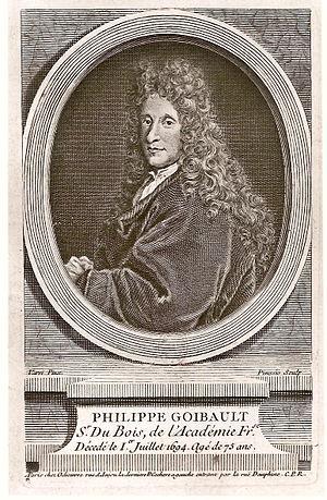 "Philippe Goibaut - Philippe Goibaut (""Monsieur Du Bois"") circa 1690"