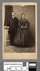 Thomas Davies Treorci & sister Mrs. David Evans, Penllwyn