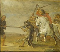 Potter, Paulus - Punishment of a Hunter (The Wolf Hunt).jpg