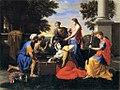 Poussin Achille parmi les filles de Lycomède Boston.jpg