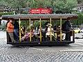 Průvod tramvají 2015, koňka 90, u tunelu (02).jpg