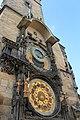 Prague Praha 2014 Holmstad Den astronomiske klokken ved bytorget.jpg