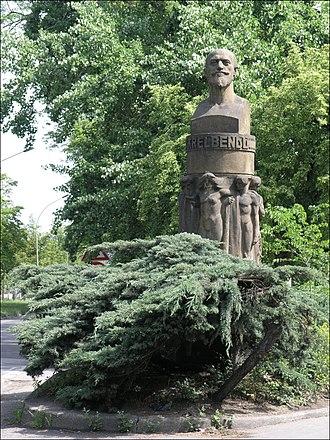 Karel Bendl - A monument in Bubeneč, work by Stanislav Sucharda