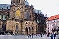 Praha - Hrad III.nádvoří - View North.jpg