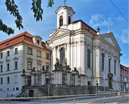 Pravoslavny katedralni chram sv. Cyrila a Metodeje Resslova Praha