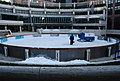 Preparing the Ice rink, Broadgate Circus - geograph.org.uk - 1072642.jpg