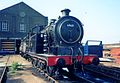 Preserved N7 0-6-2T Stratford Works April 1991. 02.jpg