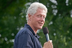 President Bill Clinton 2007