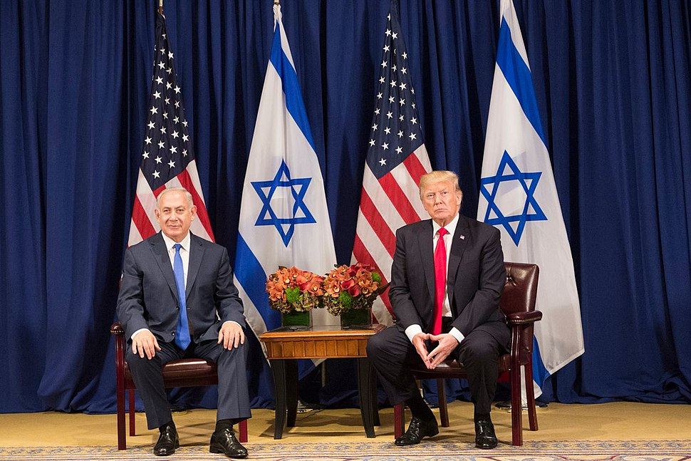President Donald J. Trump and Prime Minister Benjamin Netanyahu of Israel at the United Nations General Assembly (36747062994)