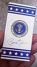 Presidential M&Ms (the parting gift from a West Wing tour) (6976145616).jpg