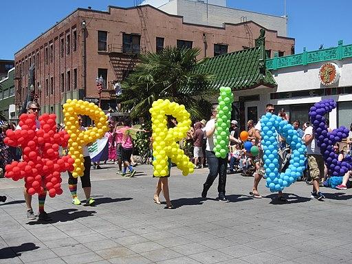 Pride parade, Portland, Oregon (2015) - 189