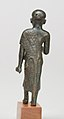 Priest in a leopard skin cloak with an inscription and Osiris on his skirt MET 26.7.1415 back.jpg