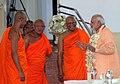 Prime Minister Narendra Modi at the Mahabodhi Society in Sri Lanka.jpg