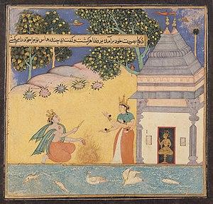 Chandrahasa - Chandrahasa prays to goddess Kali.