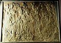 Procession of the Empress as Donor with Her Court, Chinese, from the Binyang Cave, Longmen, Henan Province, Norther Wei Dynasty, about 522 - Nelson-Atkins Museum of Art - DSC09118.JPG