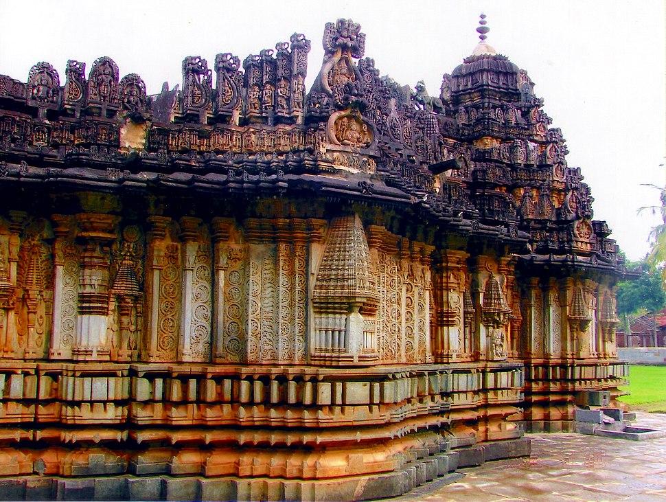 Profile of Amrutesvara Temple in Chikkamagaluru district