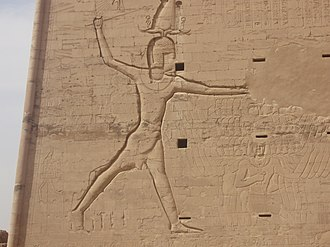 Ptolemy XII Auletes - Ptolemy XII smashing his enemies with a royal mace.