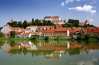 Ptuj City in Styria, Slovenia