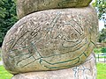 Public art detail, Monkton Park, Chippenham - geograph.org.uk - 507538.jpg