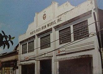 Puerto Rico Iron Works - Image: Puerto Rico Iron Works, mirando hacia el noreste, Barrio Playa, Ponce, PR (DSC00814)