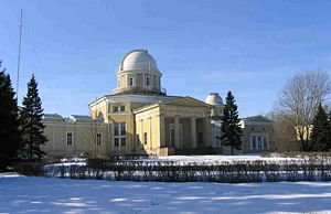Pulkovo Observatory - The Pulkovo Astronomical Observatory, near St Petersburg