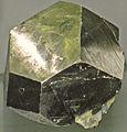 Pyrite (latest Cretaceous to earliest Tertiary, 62-66 Ma; Leonard Mine (?), Butte, Montana, USA) (19185927561).jpg