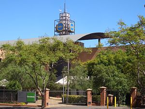 Network Ten - Ten's corporate headquarters in Pyrmont, an inner suburb of Sydney