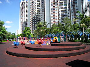 Quarry Bay Park - Playground inside park
